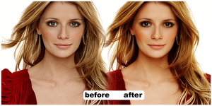 mischa barton make over by miseryloneliness