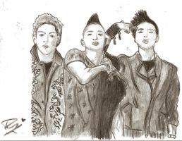 Top, GD and Taeyang by dizzy98