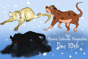 Advent Calender Adoptables |Dec 10th| by Aiyana-Kopa