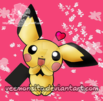 Cute Pichu by Veemonsito