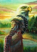 Rise with the Eagle by arrowroot