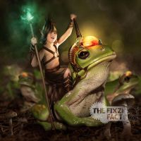 Frog prince by MadameThenadier