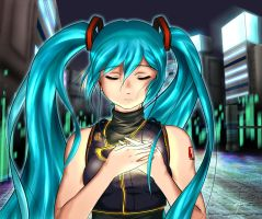 Miku Hatsune Song in my Heart by Indignation