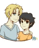 Will and Nico by Toledin