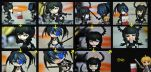 Black Rock Shooter: Pocky by GamerFromHell