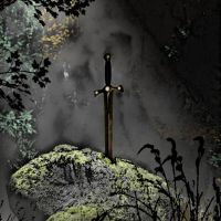 The Sword in The Stone by Kamiu