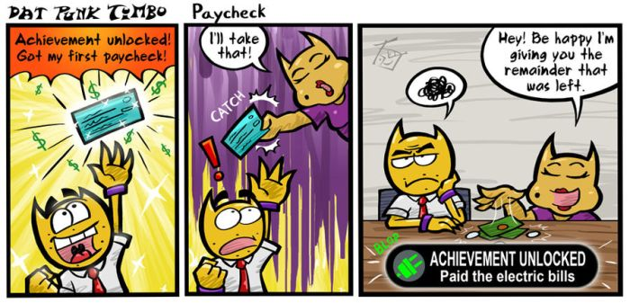[DPT] Paycheck by hooksnfangs