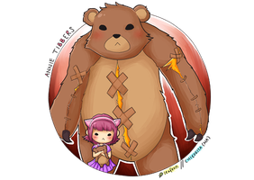 HAVE  YOU SEEN MY BEAR TIBBERS by ttsuki