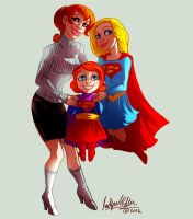 Sisters Supergirls Lena Comm by Mistytang by kclcmdr
