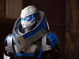 Garrus from Mass Effect by Alexwazz