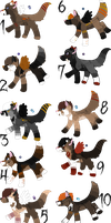 Spoopy Limited Breeding Litter - Closed by KittehzAdopts