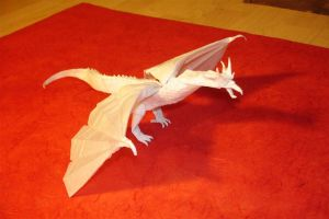 Scaled Wyvern-Killeen1 by origami-artist-galen