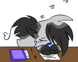 JU NO STAP SLEEPING IN CLASS by pinkfrilly