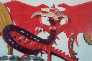 Slifer model by Eye-of-Kaiba