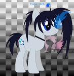 Black Rock Pony DTA Adoptable ~CLOSED~ by PrincessLunalovesme
