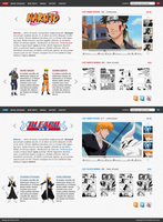 Anime Fan webdesign by swift20