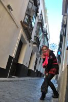 Walking on the streets by Isawa-Hiromi