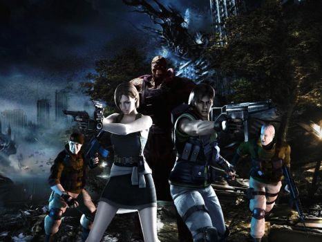 Resident evil wallpaper 9 by ethaclane