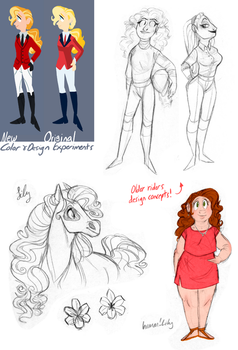 Horseland Sketches 4 by HorselandGirl