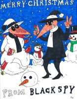 Merry Christmas From Black Spy by rockofmarduk