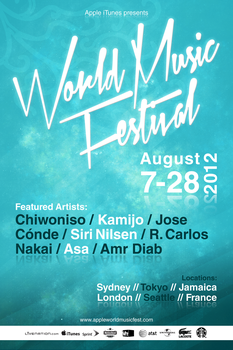 World Music Festival - Type by handslikeice