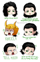 Lovely bunch of Loki's by Firipa