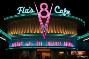 Flo's V8 Cafe by red5