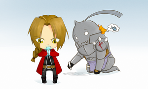 Elric Brothers by jecca-zn