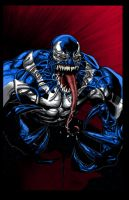 Yu Venom colored by RCarter