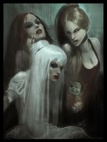 Gothic Succession of Witches by SpectralJin