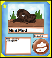 Mini Mud Card (Adopt) by Dianamond