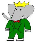 King Babar by KingLionelLionheart