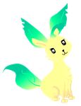Leafeon Vector by goatsarecute