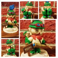 Teemo Sculpture by eldon14