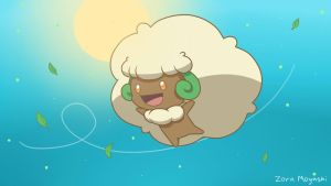 Whimsicott Wallpaper by Zora-Moyashi