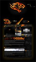 King's burning website. by fusion-gfx