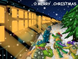 TMNT-The Polar Express by tmask01
