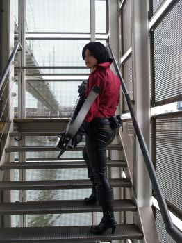 :. Ada Wong RE6 Cosplay .: by EscapedAngel