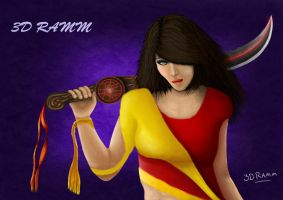 FMP Final Character Design by SUNNY-3D-RAMM