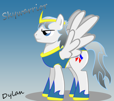 SkyWarrior (MLP Style Vector) by I-TwistedFury-I