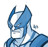 Wolverine sketch 5-11-2015 by Tigerhawk01