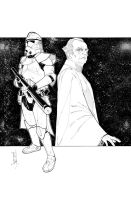 Commanders and Generals: Thire/Palpatine Inks by Hodges-Art