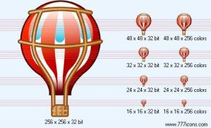 Ballon Icon by science-icons