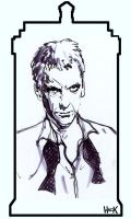 Peter Capaldi is THE DOCTOR by RobertHack