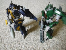 Dreadwing and Skyquake by cronoseprime