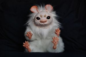 Hand Made Poseable Fantasy Bunny by o0-Honey-0o