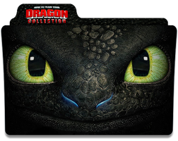How To Train Your Dragon Collection Folder Icon by jesusofsuburbiaTR