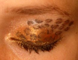 Leopard Print Eye Design by watermelonz