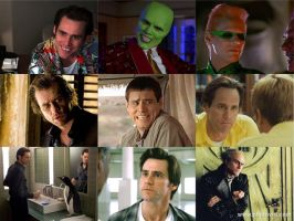Favorite Jim Carrey Characters by Deadpoolfan1999