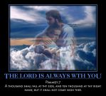 The Lord is always with you by PrinceofPeace1237